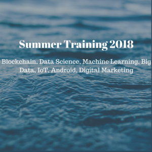 Summer Trainin 2018