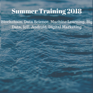 Summer Training 2018